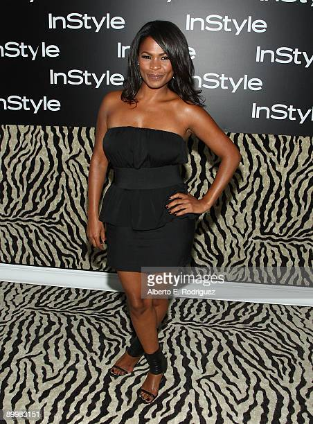 Actress Nia Long arrives at InStyle Magazine's 8th annual Summer Soiree held at the London Hotel on August 20 2009 in West Hollywood California