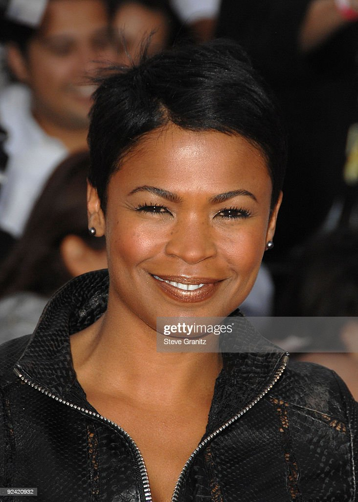 Actress Nia Long arrives at the Los Angeles Premiere of 'This Is It' held at Nokia Theatre L.A. Live on October 27, 2009 in Los Angeles, California.