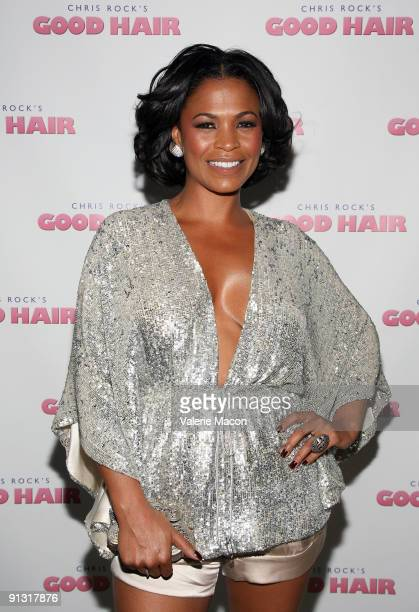 Actress Nia Long arrives at the premiere of Roadside Attraction Good Hair on October 1 2009 in Westwood Los Angeles California