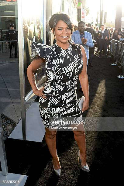 Actress Nia Long attends a special presentation of Warner Bros' 'Keanu' at ArcLight Cinemas Cinerama Dome on April 27 2016 in Hollywood California