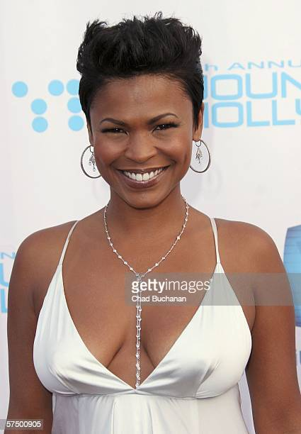 Actress Nia Long attends Movieline's Hollywood Life 8th Annual Young Hollywood Awards at the Music Box at The Fonda on April 30 2006 in Hollywood...