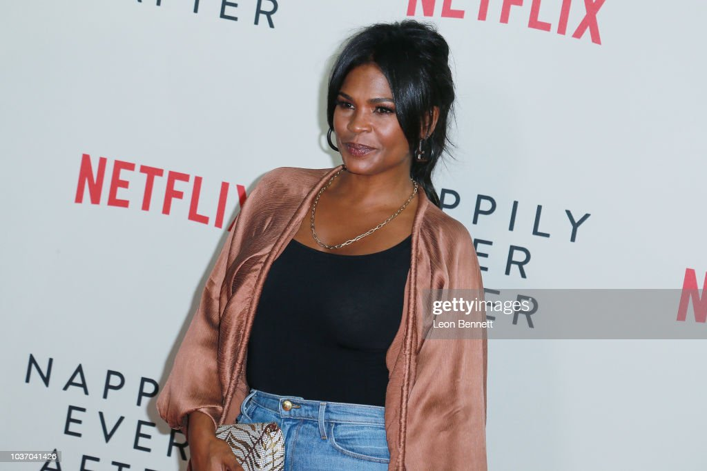 """Special Screening Of Netflix's """"Nappily Ever After"""" - Arrivals : News Photo"""