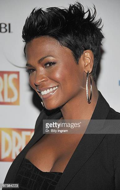 Actress Nia Long attends the 'Dreamgirls' Opening Night at Ahmanson Theatre on March 2 2010 in Los Angeles California