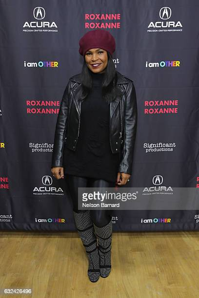 Actress Nia Long attends the 'Roxanne Roxanne' party at the Acura Studio during Sundance Film Festival 2017 on January 22 2017 in Park City Utah