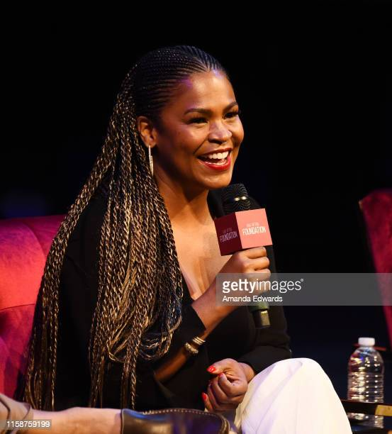 Actress Nia Long attends the SAGAFTRA Foundation's Game Changers Screening Series Boyz N The Hood event at the Ford Theatre on June 27 2019 in...