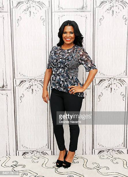 Actress Nia Long discusses her hit ABC Comedy 'Uncle Buck' during AOL Build Speaker Series at AOL Studios In New York on June 14 2016 in New York City