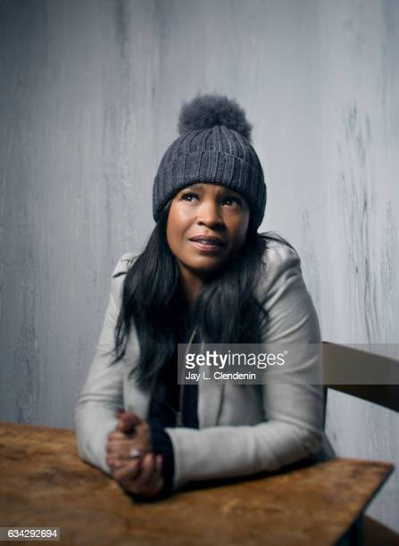 Actress Nia Long from the film 'Roxanne Roxanne' is photographed at the 2017 Sundance Film Festival for Los Angeles Times on January 21 2017 in Park...