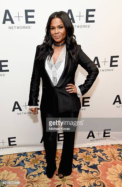 Actress Nia Long of 'Beaches' attends the Lifetime portion of the 2017 Winter Television Critics Association Press Tour at Langham Hotel on January...