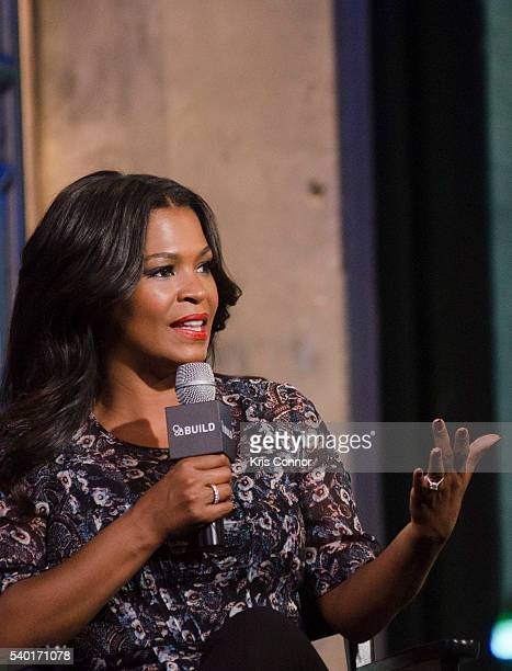 Actress Nia Long speaks about her show Uncle Buck during the AOL Build Speaker Series at AOL Studios on June 14 2016 in New York City