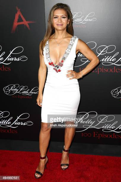 Actress Nia Peeples attends the 'Pretty Little Liars' 100th episode celebration at W Hollywood on May 31 2014 in Hollywood California