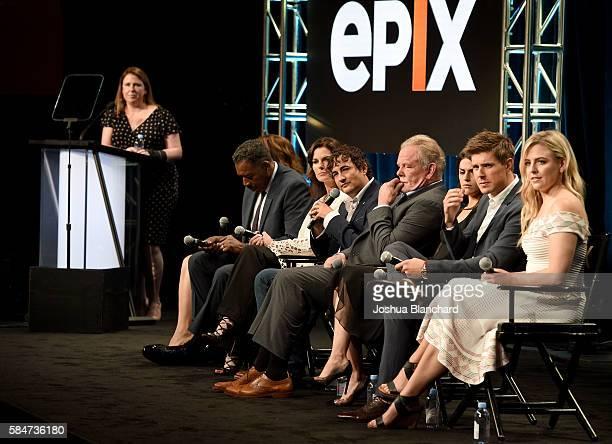 Actress Nia Vardalos actor Ernie Hudson actress Sela Ward creator/showrunner Joshua Michael Stern actor Nick Nolte actress Callie Hernandez actor...