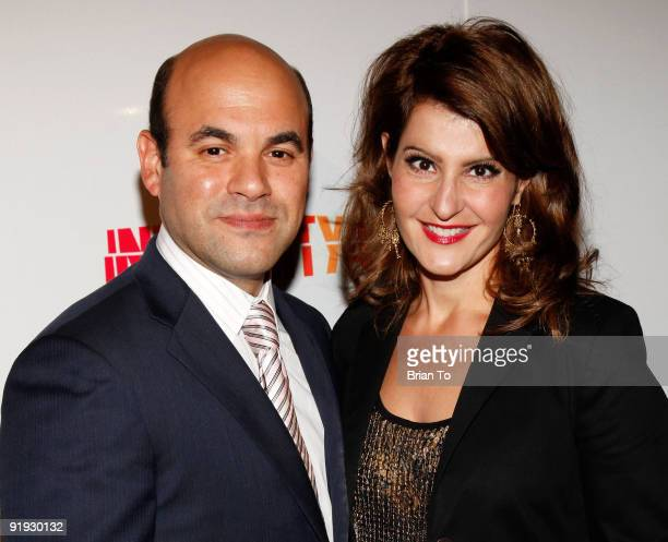Actress Nia Vardalos and husband Ian Gomes attend 2009 20th Anniversary Inner City Arts Imagine Gala And Auction at The Beverly Hilton Hotel on...