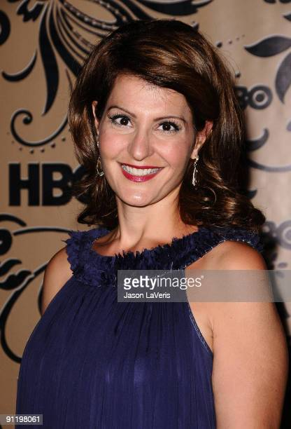 Actress Nia Vardalos attends HBO's post Emmy Awards reception at Pacific Design Center on September 20 2009 in West Hollywood California