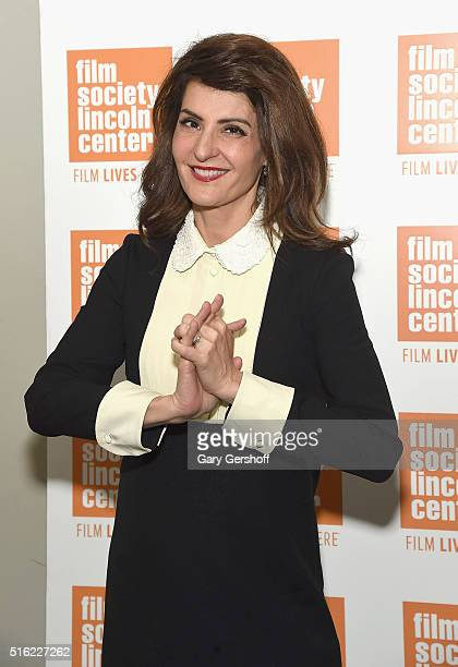 Actress Nia Vardalos attends the 'In Conversation' series at The Film Society of Lincoln Center on March 17 2016 in New York City