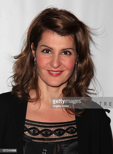 Actress Nia Vardalos attends the opening night of 'West Side Story' at the Pantages Theatre on December 1 2010 in Hollywood California