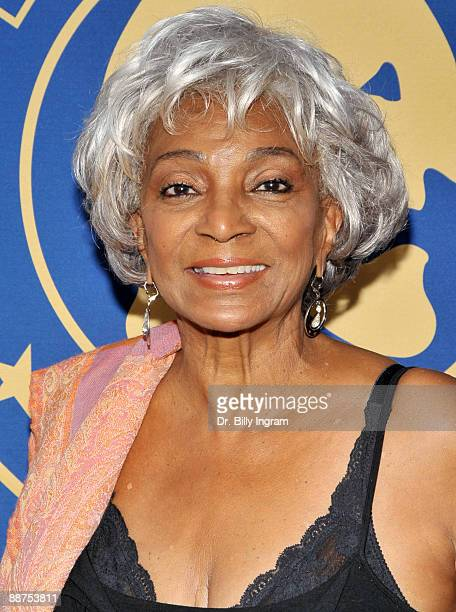Actress Nichelle Nichols arrives at the 7th Annual Bethune Tri-Union Diversity Awards at the David Henry Hwang Theatre on June 29, 2009 in Los...