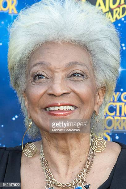 Actress Nichelle Nichols attends the 42nd Annual Saturn Awards at The Castaway on June 22, 2016 in Burbank, California.