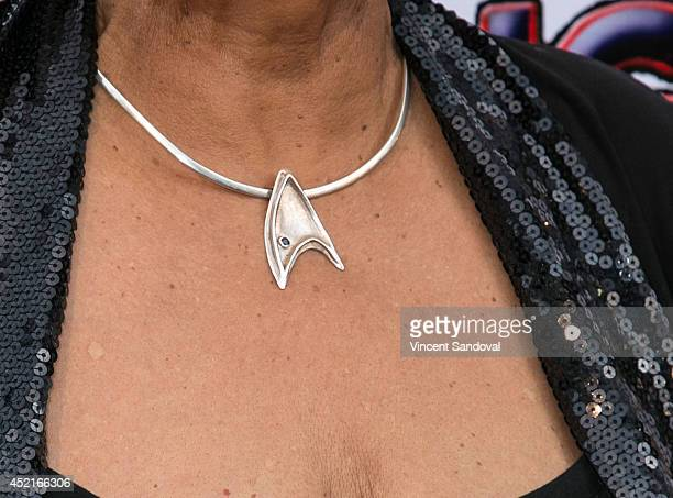 Actress Nichelle Nichols attends the Los Angeles screening of 'Alongside Night' at Laemmle's Music Hall 3 on July 14 2014 in Beverly Hills California