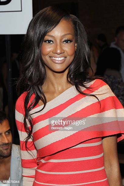 Actress Nichole Galicia atends Tracy Reese S/S 2016 with SheaMoisture during New York Fashion Week at Art Beam on September 13 2015 in New York City