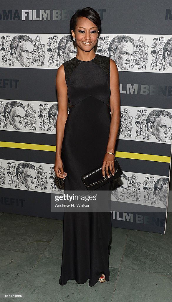 Actress Nichole Galicia attends The Museum of Modern Art Film Benefit Honoring Quentin Tarantino at MOMA on December 3, 2012 in New York City.