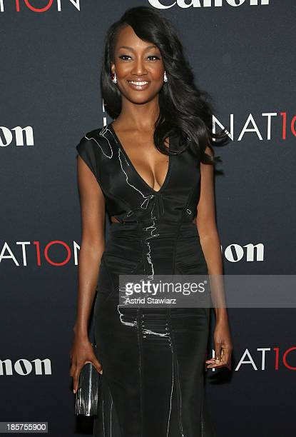 Actress Nichole Galicia attends the Premiere Of Canon's Project Imaginat10n Film Festival at Alice Tully Hall on October 24 2013 in New York City