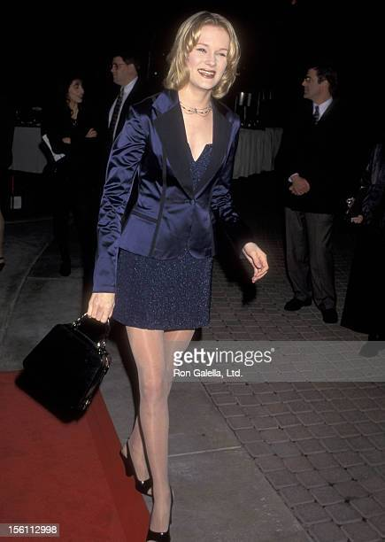 Actress Nicholle Tom attends 'The Beautician and the Beast' Hollywood Premiere on February 3 1997 at Paramount Theater in Hollywood California