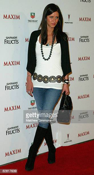 Actress Nicky Hilton arrives at Maxim Magazine's 'Hot 100 for 2005' at the Montmartre Lounge on May 12 2005 in Los Angeles California