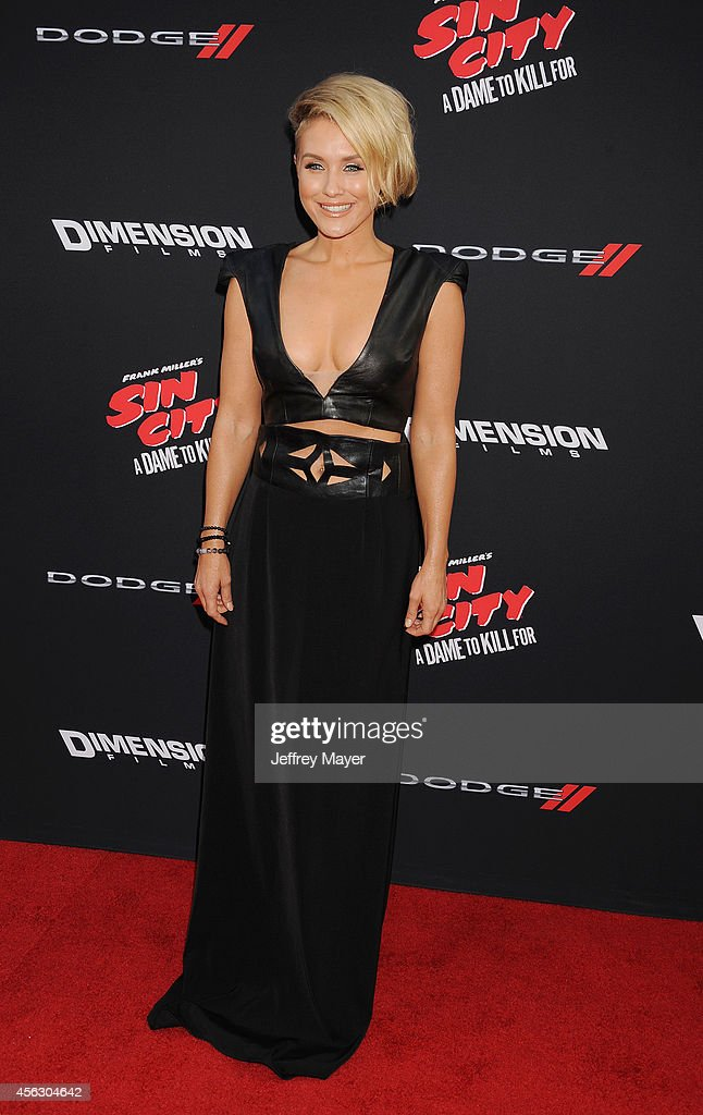 Actress Nicky Whelan arrives at the 'Sin City: A Dame To Kill For' - Los Angeles Premiere at TCL Chinese Theatre on August 19, 2014 in Hollywood, California.
