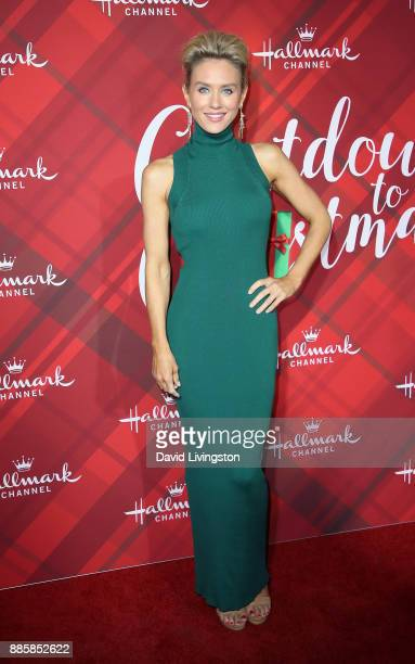 Actress Nicky Whelan attends a screening of Hallmark Channel's 'Christmas at Holly Lodge' at The Grove on December 4 2017 in Los Angeles California