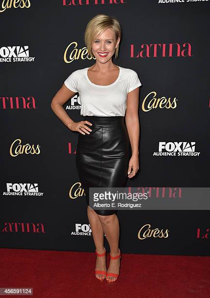 Actress Nicky Whelan attends LATINA Magazine's Hollywood Hot List party at the Sunset Tower Hotel on October 2 2014 in West Hollywood California