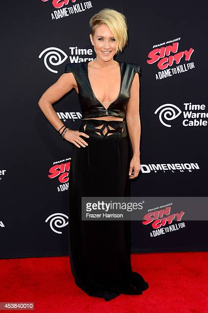 Actress Nicky Whelan attends Premiere of Dimension Films' Sin City A Dame To Kill For at TCL Chinese Theatre on August 19 2014 in Hollywood California