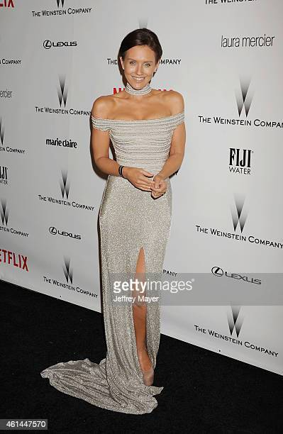 Actress Nicky Whelan attends the 2015 Weinstein Company and Netflix Golden Globes After Party at Robinsons May Lot on January 11, 2015 in Beverly...