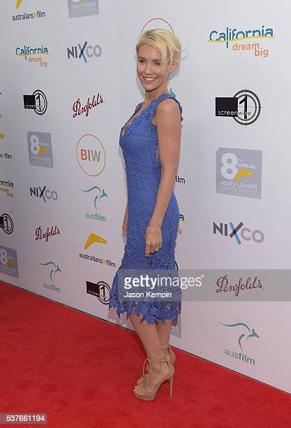 Actress Nicky Whelan attends the Australians In Film Heath Ledger Scholarship Dinner at Mr C Beverly Hills on June 1 2016 in Beverly Hills California
