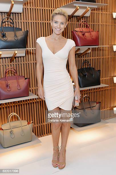 Actress Nicky Whelan attends the Bally Beverly Hills flagship store opening in support of Delete Blood Cancer DKMS on May 17, 2016 in Beverly Hills,...