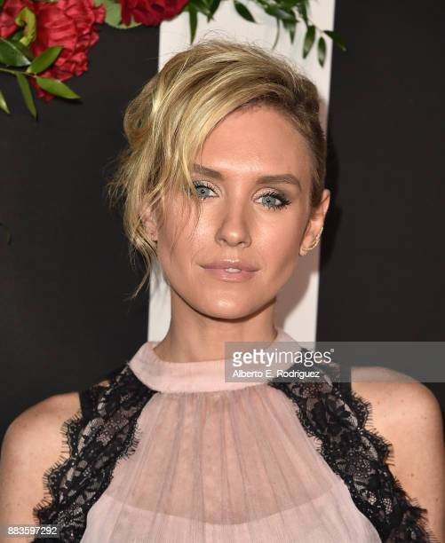 Actress Nicky Whelan attends the Land of distraction Launch event at Chateau Marmont on November 30 2017 in Los Angeles California