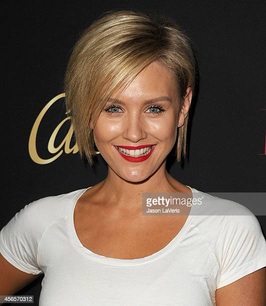 Actress Nicky Whelan attends the Latina Magazine Hollywood Hot List party at Sunset Tower Hotel on October 2 2014 in West Hollywood California