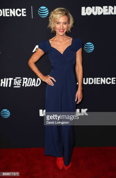 Actress Nicky Whelan attends the premiere of ATT Audience Network's 'Loudermilk' and 'Hit The Road' at ArcLight Cinemas on October 10 2017 in...