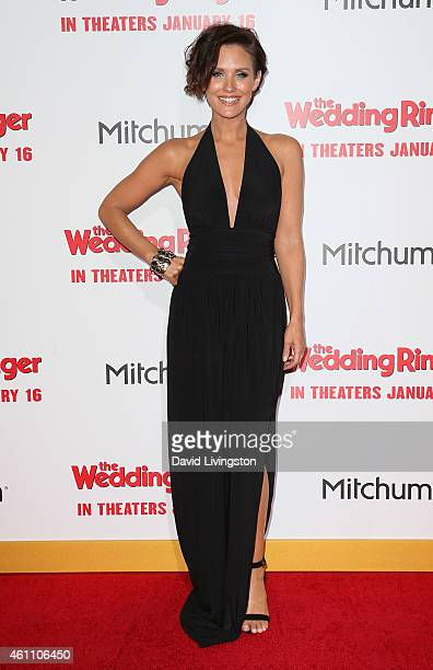 Actress Nicky Whelan attends the premiere of Screen Gems' 'The Wedding Ringer' at the TCL Chinese Theatre on January 6 2015 in Hollywood California