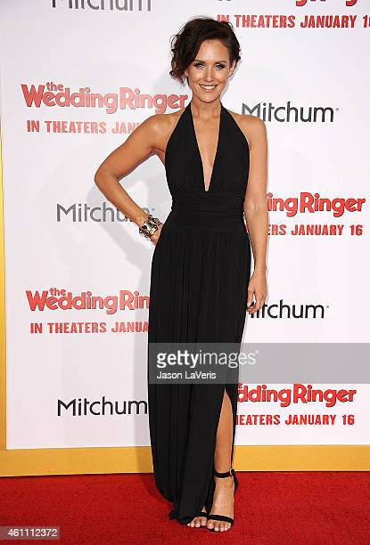 Actress Nicky Whelan attends the premiere of The Wedding Ringer at TCL Chinese Theatre on January 6 2015 in Hollywood California