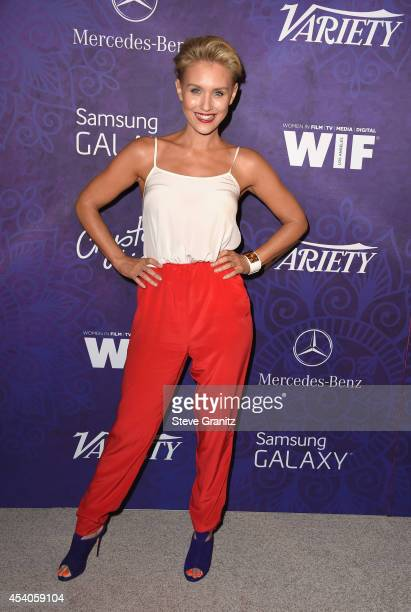 Actress Nicky Whelan attends Variety and Women in Film Emmy Nominee Celebration powered by Samsung Galaxy on August 23 2014 in West Hollywood...