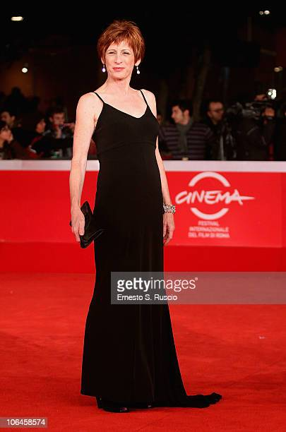 Actress Nicola Bartlett attends the Little Sparrows premiere during the 5th International Rome Film Festival at Auditorium Parco Della Musica on...