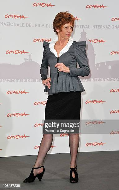 Actress Nicola Bartlett poses at the Little Sparrows photocall during The 5th International Rome Film Festival at Auditorium Parco Della Musica on...