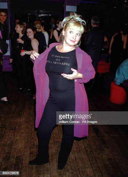 Actress Nicola Duffett who plays 'Cat Matthews' at Channel 5's Family Affairs celebrity party held at the Ten Rooms in London