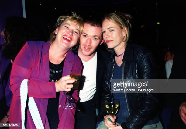 Actress Nicola Duffett who plays 'Cat Matthews' with actor Alex Walkinshaw who plays 'PC Dale Smith' from ITV's The Bill at Channel 5's Family...