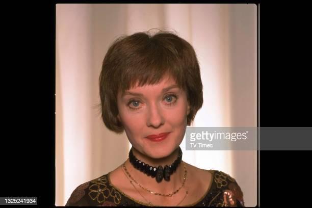 Actress Nicola Pagett, circa 1989.