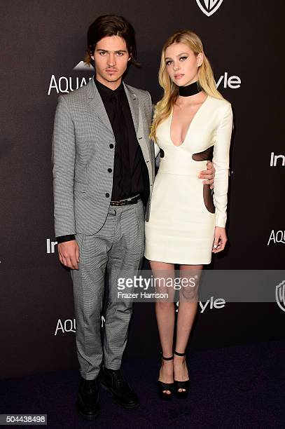 Actress Nicola Peltz and Will Peltz attend InStyle and Warner Bros 73rd Annual Golden Globe Awards PostParty at The Beverly Hilton Hotel on January...