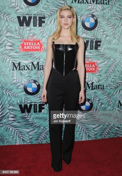 Actress Nicola Peltz arrives at the 10th Annual Women In Film PreOscar Cocktail Party at Nightingale Plaza on February 24 2017 in Los Angeles...