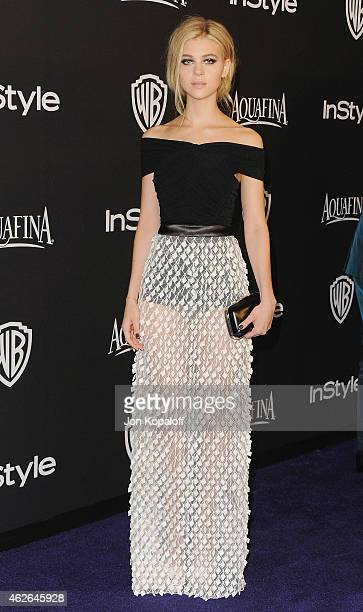 Actress Nicola Peltz arrives at the 16th Annual Warner Bros And InStyle PostGolden Globe Party at The Beverly Hilton Hotel on January 11 2015 in...