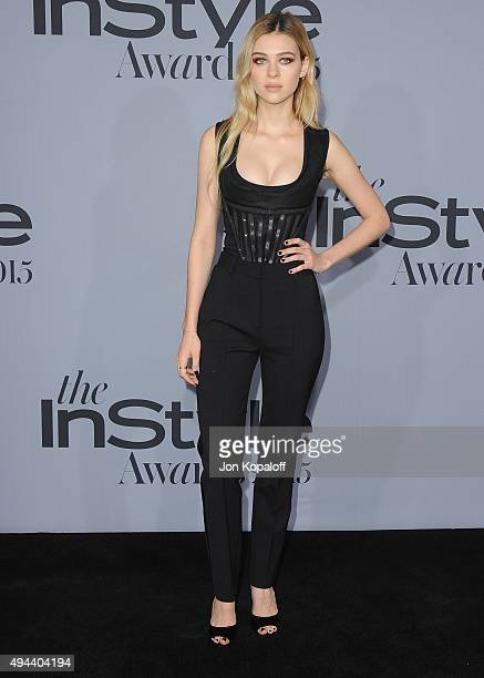 Actress Nicola Peltz arrives at the InStyle Awards at Getty Center on October 26 2015 in Los Angeles California