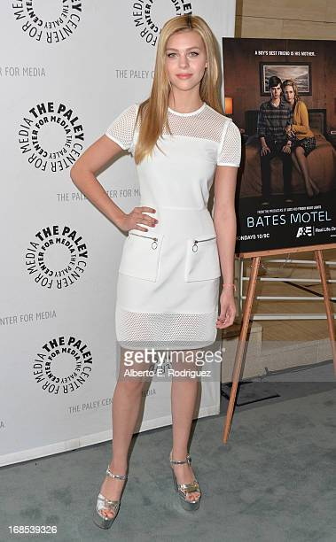 """Actress Nicola Peltz arrivies to The Paley Center for Media Presents """"Bates Motel: Reimagining A Cinema Icon"""" at The Paley Center for Media on May..."""